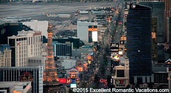 View from Evening Helicopter Tour, Las Vegas