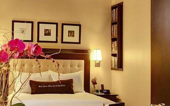 Room at the Library Hotel, New York City, NY