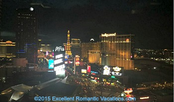 Mandarin Bar - View of Las Vegas