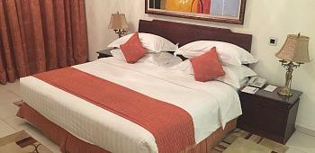 Marina Hotel Apartments Bedroom