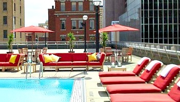 Hilton Columbus Downtown Pool