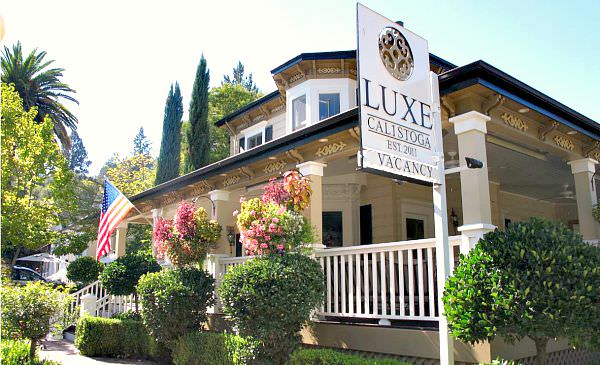 Luxe Calistoga Honeymoon B&B in Napa Valley, California