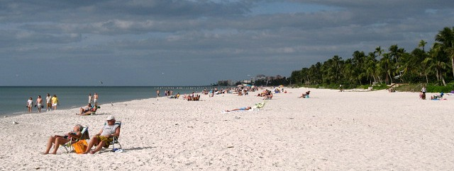 Naples, Florida - White Sand Beach