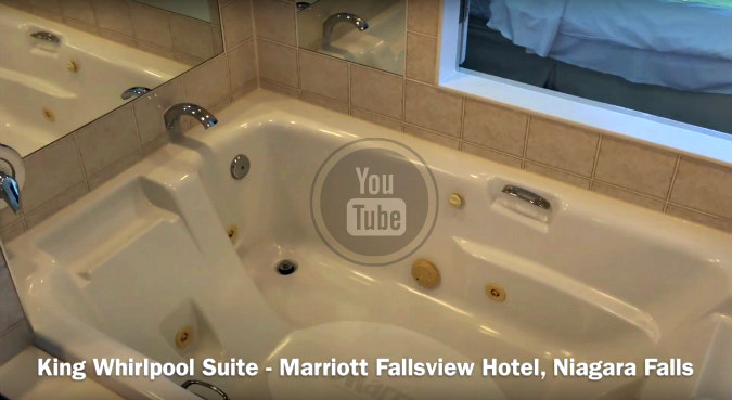 Marriott Fallsview Whirlpool Suite - Video