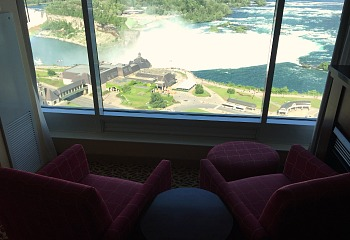 Niagara Falls Marriott Hotel View