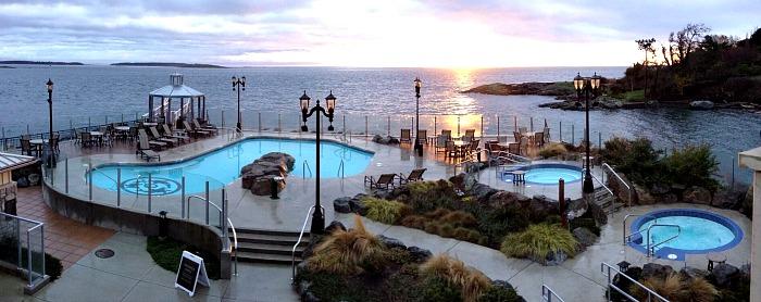 Oak Bay Beach Hotel Pool & Hot Tubs