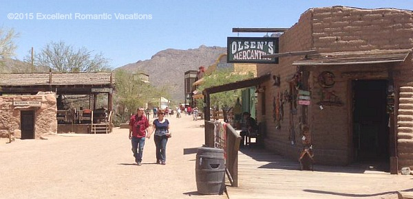Arizona Romantic Getaways Honeymoon Spots In Tucson