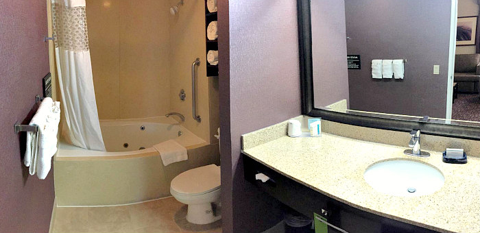 Orange County Whirlpool Suite