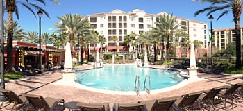 Pool at the Hilton Grand Vacations Resort, Orlando FL