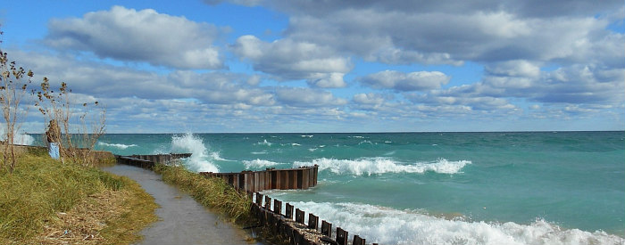 Romantic & Peaceful Lake Michigan Waterfront