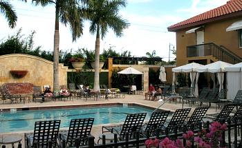 Pool at the Bellasera Hotel, Naples Florida