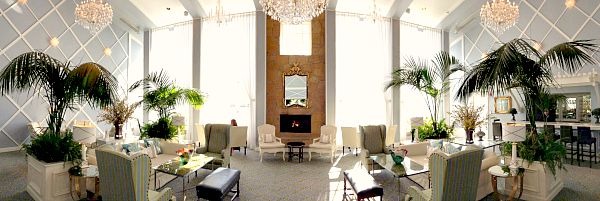 Inside the Portofino Hotel, Redondo Beach, California