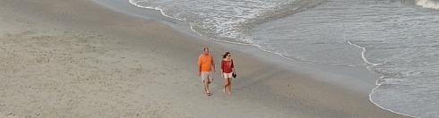 Myrtle Beach Romantic Walk on the Beach