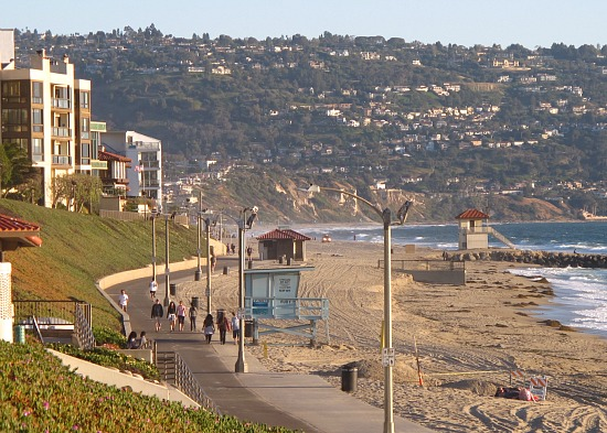 Evening Walk, Redondo Beach, CA
