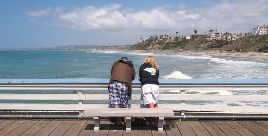 Romantic Place on the Southern California Coast.