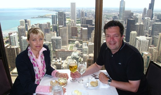 Signature Lounge Romantic Lunch with a View, Chicago