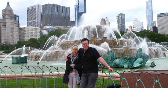 Romantic Spot in Chicago - Buckingham Fountain