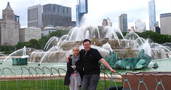 Romantic Spot in Chicago - Buckingham Fountain
