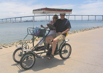 Coronado Island Surrey Bike for 2