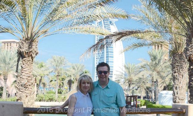 Romantic Vacation in Dubai