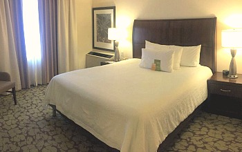 Hilton Garden Inn West Edmonton Bedroom