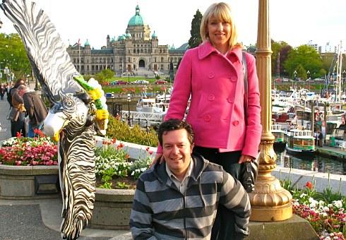 romantic getaway in Victoria BC