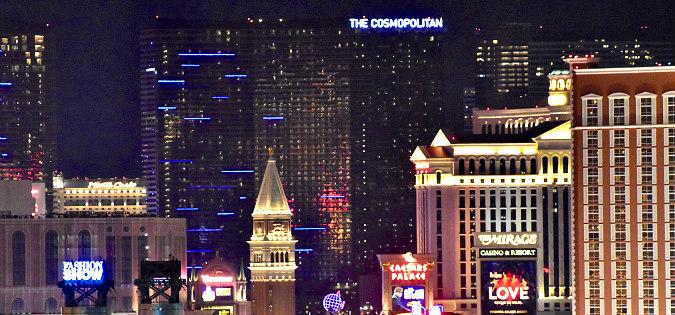Romantic Las Vegas at Night