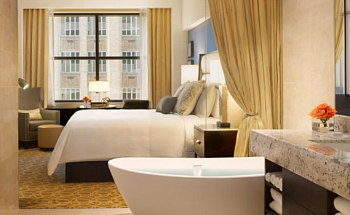 Romantic Houston Marriott Hotel