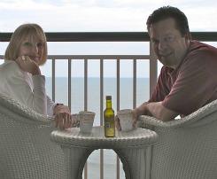 Oceanfront Myrtle Beach Hotel Balcony