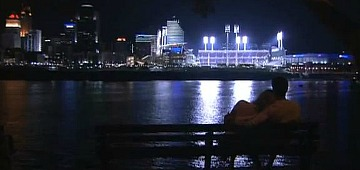 Romantic Cincinnati, Ohio at Night