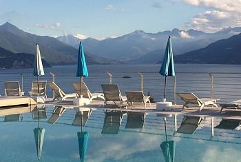 Bellagio Italy Romantic Pool