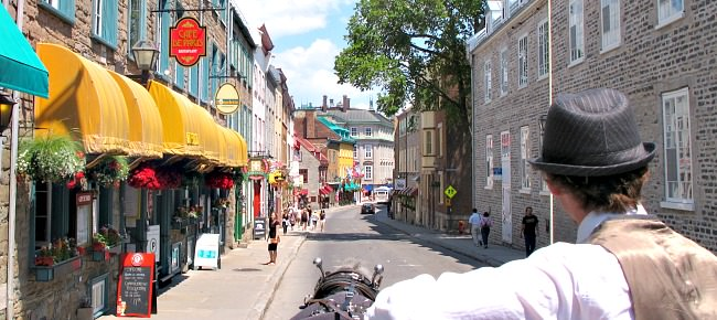 Romantic Carriage Ride in Quebec City