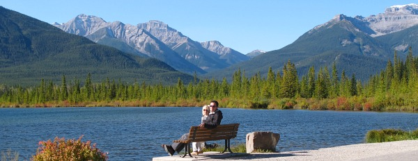 Relaxing near Banff, Canadian Rockies