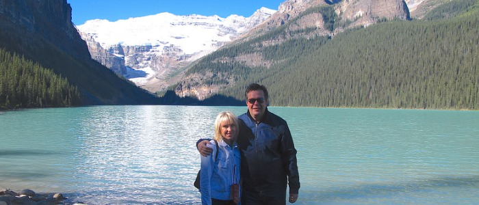 Romantic Vacation in Lake Louise, Canada