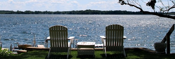 Romantic Lakefront Spot in Wisconsin Door Country