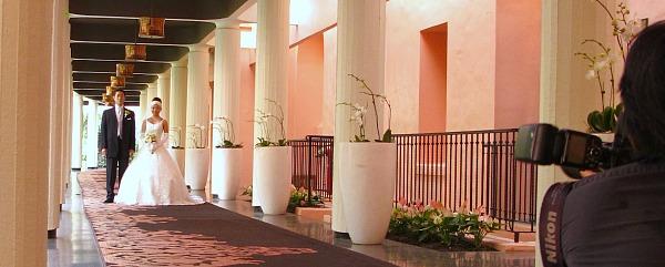 Wedding at the Royal Hawaiian Hotel, Waikiki
