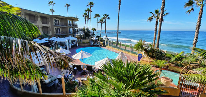 One Of The Best Beach Hotels In California Pacific Terrace Hotel San Go Ca