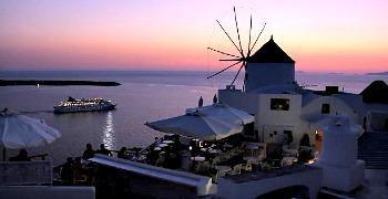 Romantic Restaurant Santorini