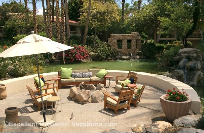 Romantic Arizona Resort Firepit