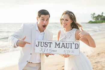 Simple Maui Wedding