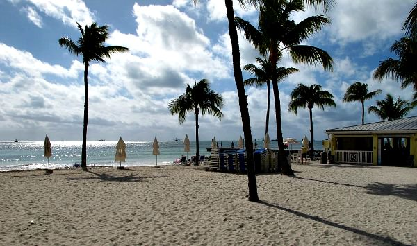Southernmost Hotel Private Beach Area
