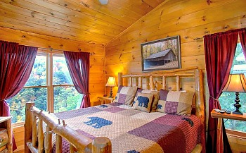 Serenity Breeze Cabin Bedroom