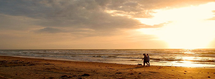Romantic Couple South Padre Island