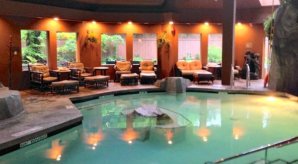 Vancouver Island Spa Resort - Pool at the Tigh Na Mara