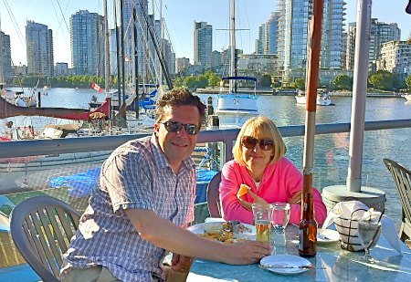 Romantic View from False Creek, Vancouver