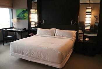 Vdara Hotel Bedroom