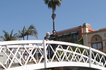 Bridge over Venice Canals, CA