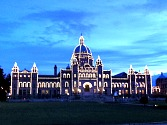 Victoria BC at Night
