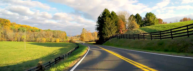 Romantic Virginia Scenery