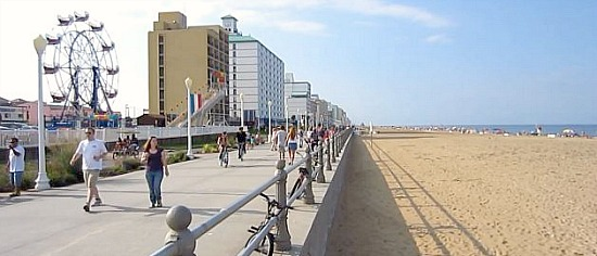 Virginia Beach Oceanfront Hotels On Boardwalk